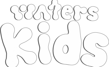 Waters Kids Logo Outline And Shadow