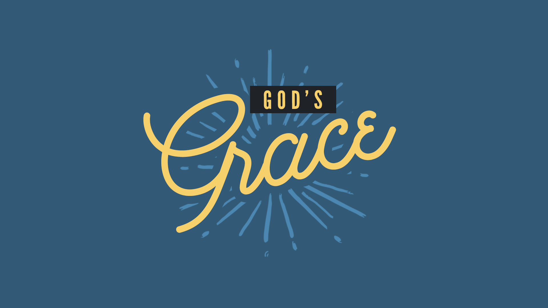 God's Grace ‹ Waters Church Norwood